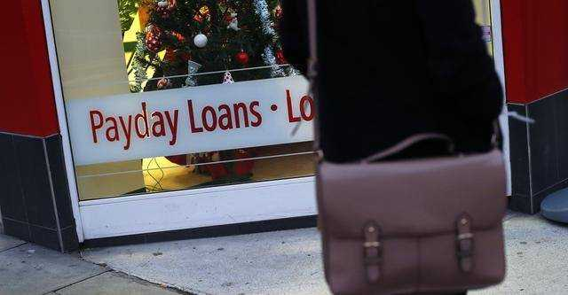 Payday loan as a replacement for a loan